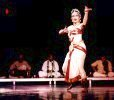Performing classical dance by Devayani